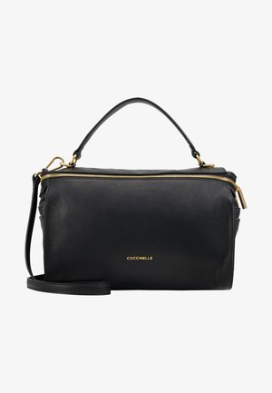 BORSA PELLE VITELLO - Handbag - noir