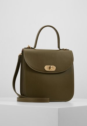 BORSA PELLE - Handbag - evergreen