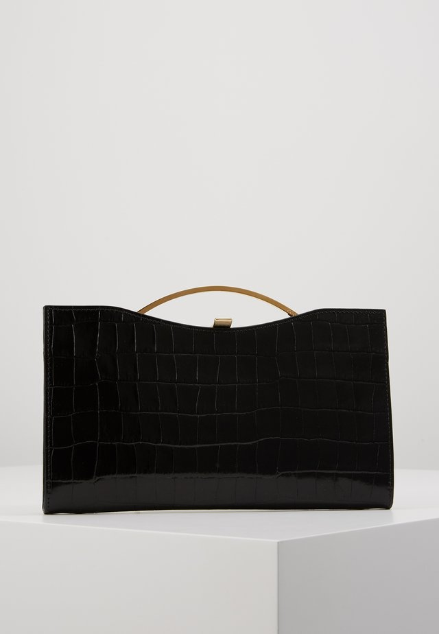 BORSA PELLE COCCO - Clutch - noir