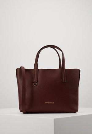 MATINEE WORK HANDBAG - Handbag - marsala/cherry