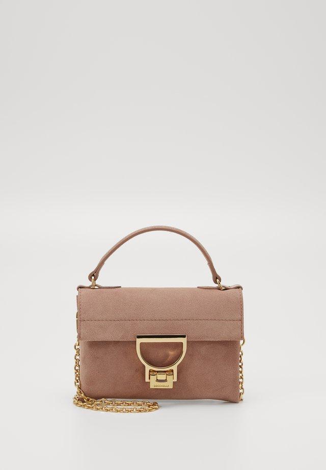 MIGNON SUEDE - Handbag - litchi