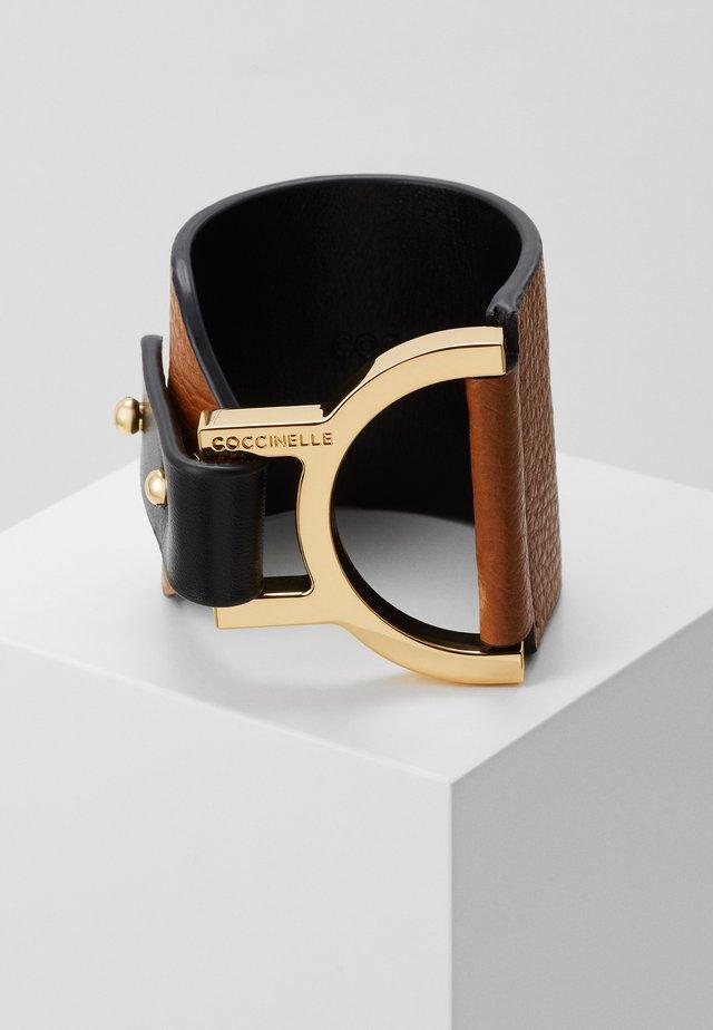ARLETTIS WIDE BRACELET - Armband - caramel