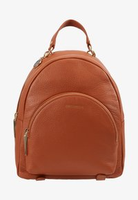 Coccinelle - ALPHA MINI BACKPACK - Reppu - tan - 1