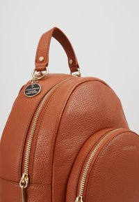 Coccinelle - ALPHA MINI BACKPACK - Reppu - tan - 2