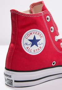 Converse - CHUCK TAYLOR ALL STAR HI  - Korkeavartiset tennarit - red - 5