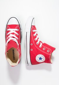 Converse - CHUCK TAYLOR ALL STAR HI  - Korkeavartiset tennarit - red - 1