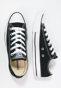 Converse - CHUCK TAYLOR ALL STAR OX - Matalavartiset tennarit - black - 1