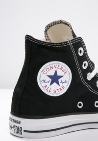Converse - CHUCK TAYLOR ALL STAR HI - Sneakers alte - black - 6
