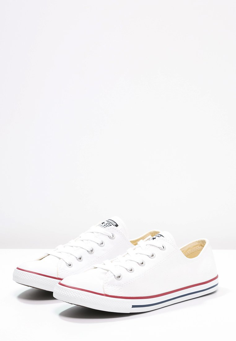 Silver Coloured Chuck Taylor All Star Dainty Shoe Silver By