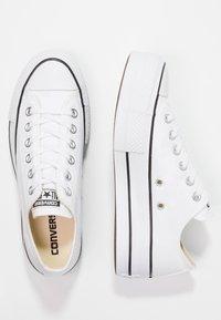 Converse - CHUCK TAYLOR ALL STAR LIFT - Joggesko - white/garnet/navy - 5