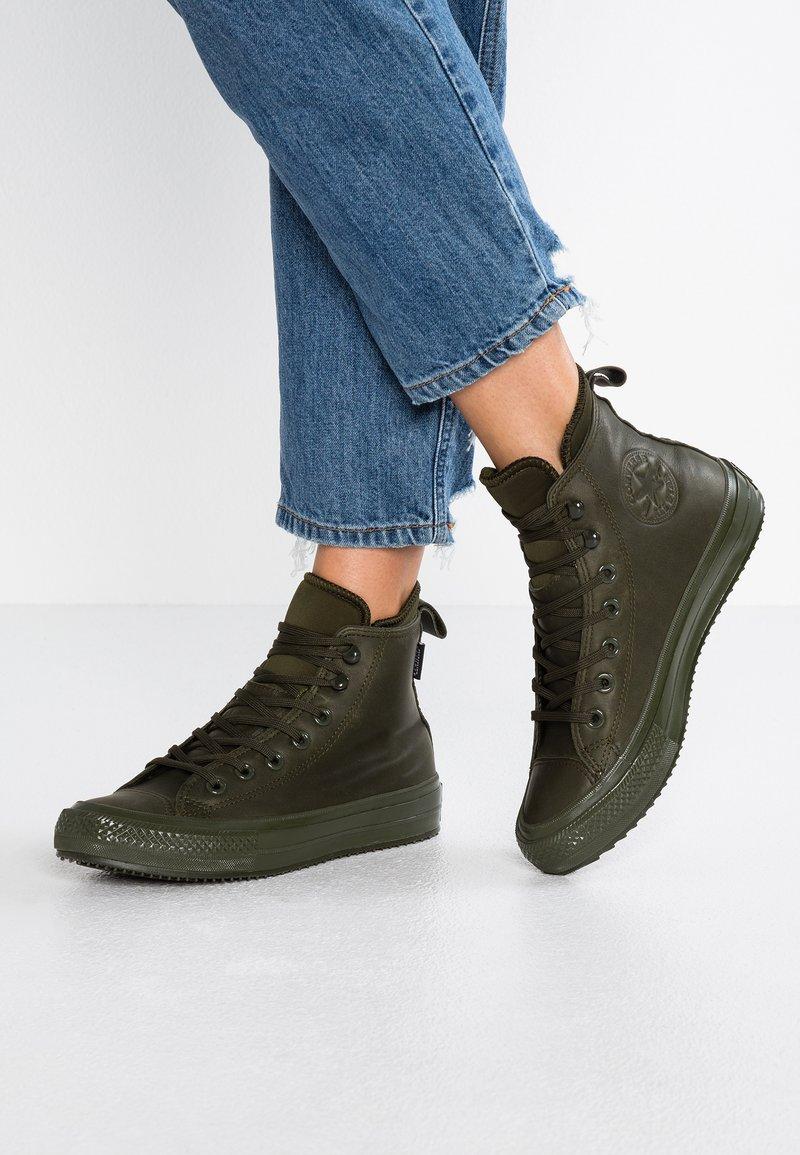 Converse - CHUCK TAYLOR ALL STAR WP - Sneaker high - utility green