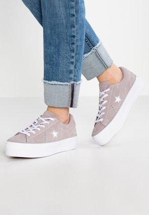 ONE STAR PLATFORM - Sneaker low - ash grey