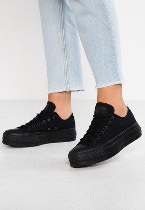 CHUCK TAYLOR ALL STAR CLEAN LIFT - Sneaker low - triple black