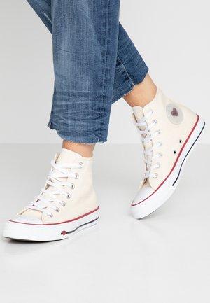 CHUCK TAYLOR ALL STAR - Sneaker high - natural/black/garnet