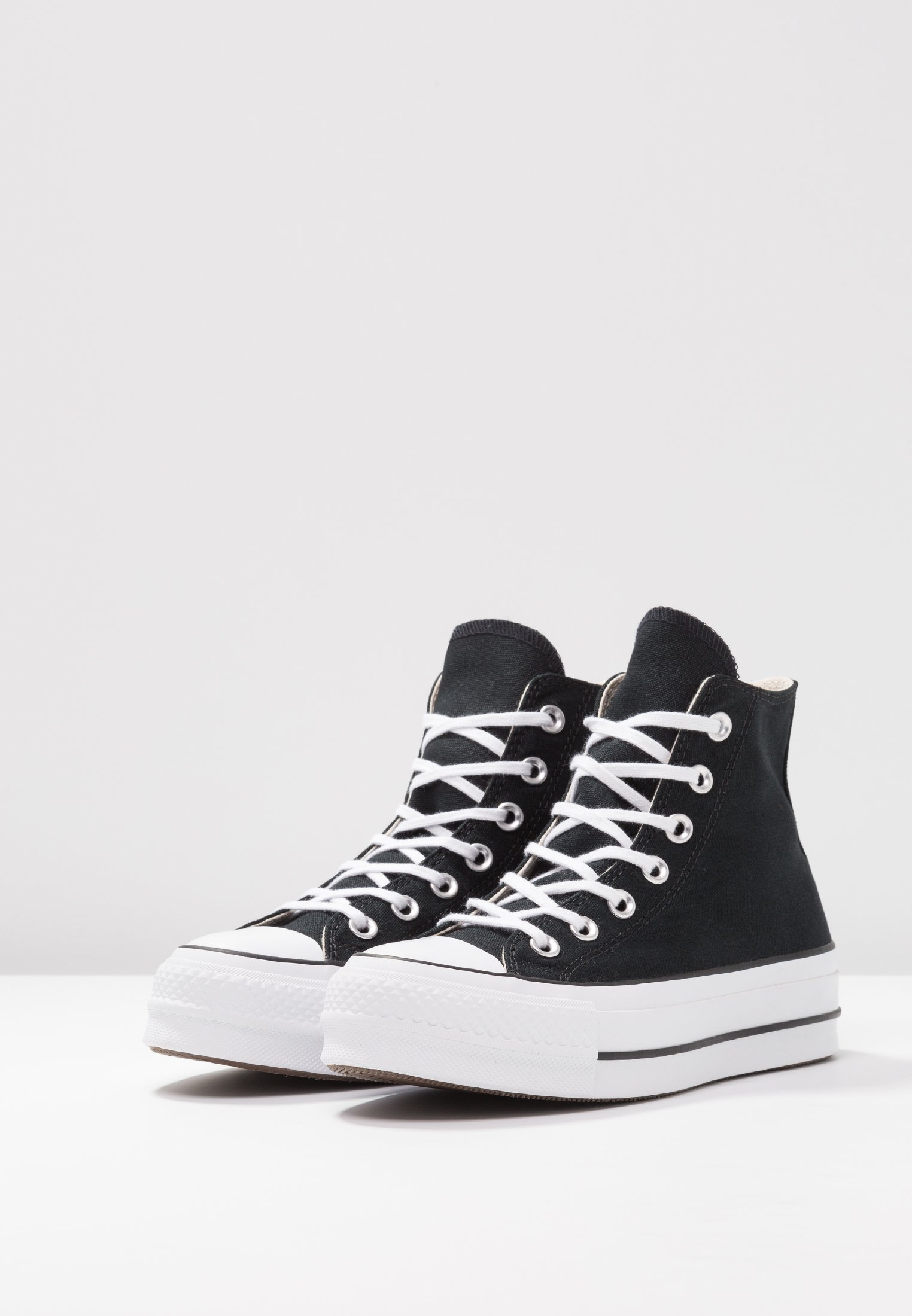 Converse Chuck Taylor All Star Lift - Höga Sneakers Black/white