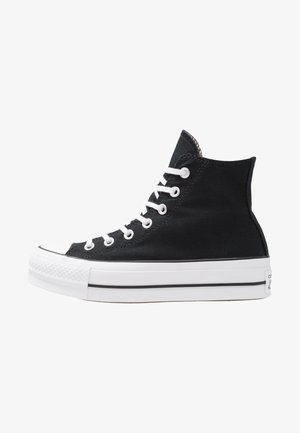 CHUCK TAYLOR ALL STAR LIFT - Høye joggesko - black/white