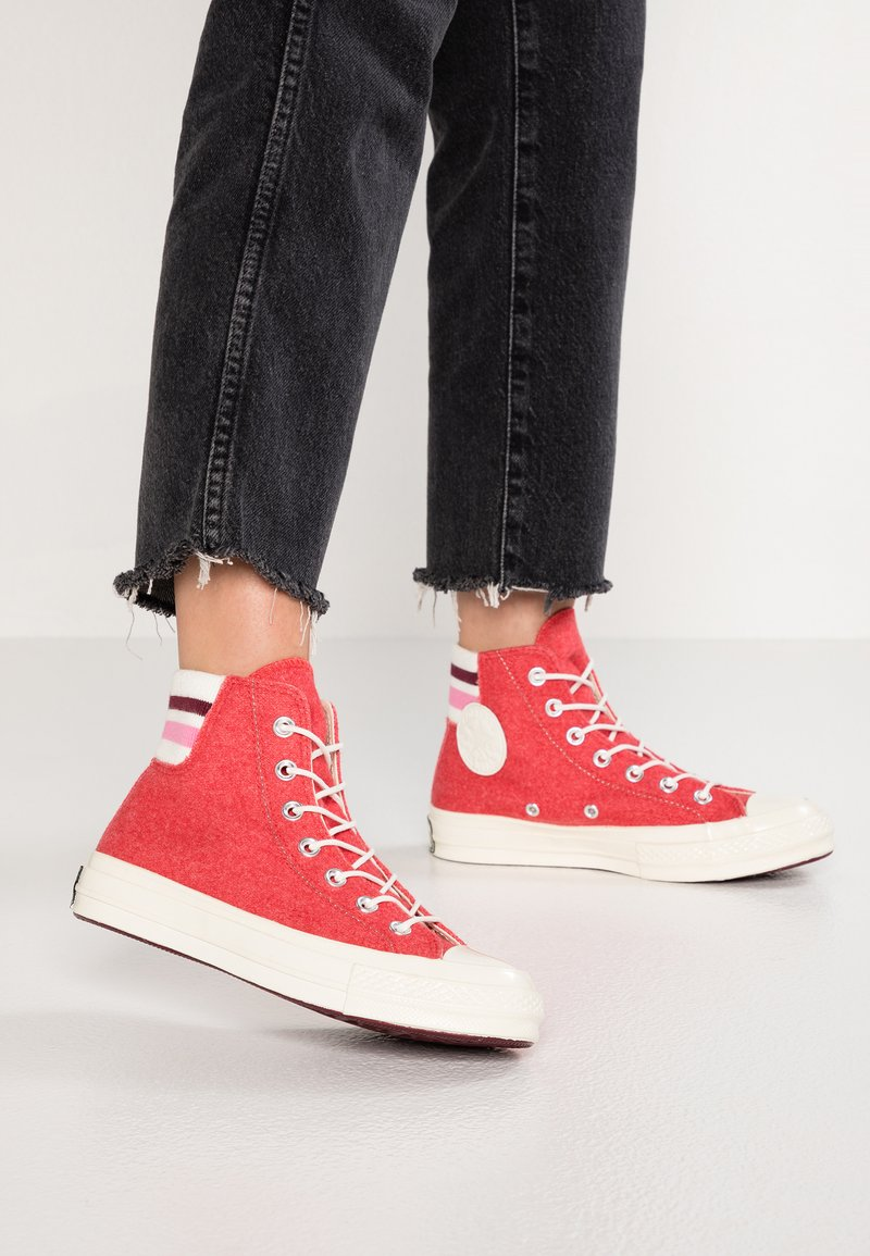 Converse - CHUCK 70 - High-top trainers - sedona red/pink/egret