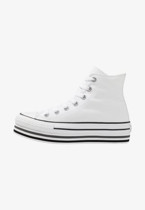 CHUCK TAYLOR ALL STAR PLATFORM - High-top trainers - white