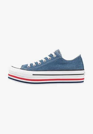 CHUCK TAYLOR ALL STAR PLATFORM LAYER - Sneakers basse - ensign blue/white/black