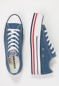 Converse - CHUCK TAYLOR ALL STAR PLATFORM LAYER - Joggesko - ensign blue/white/black - 3