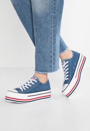 CHUCK TAYLOR ALL STAR PLATFORM LAYER - Sneakers - ensign blue/white/black