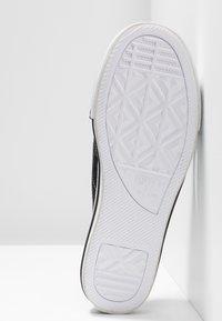 Converse - ONE STAR  - Matalakantaiset pistokkaat - black/egret/white - 6