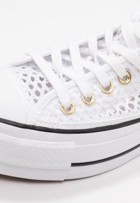 Converse - CHUCK PLATFORM - Baskets basses - white/black - 2