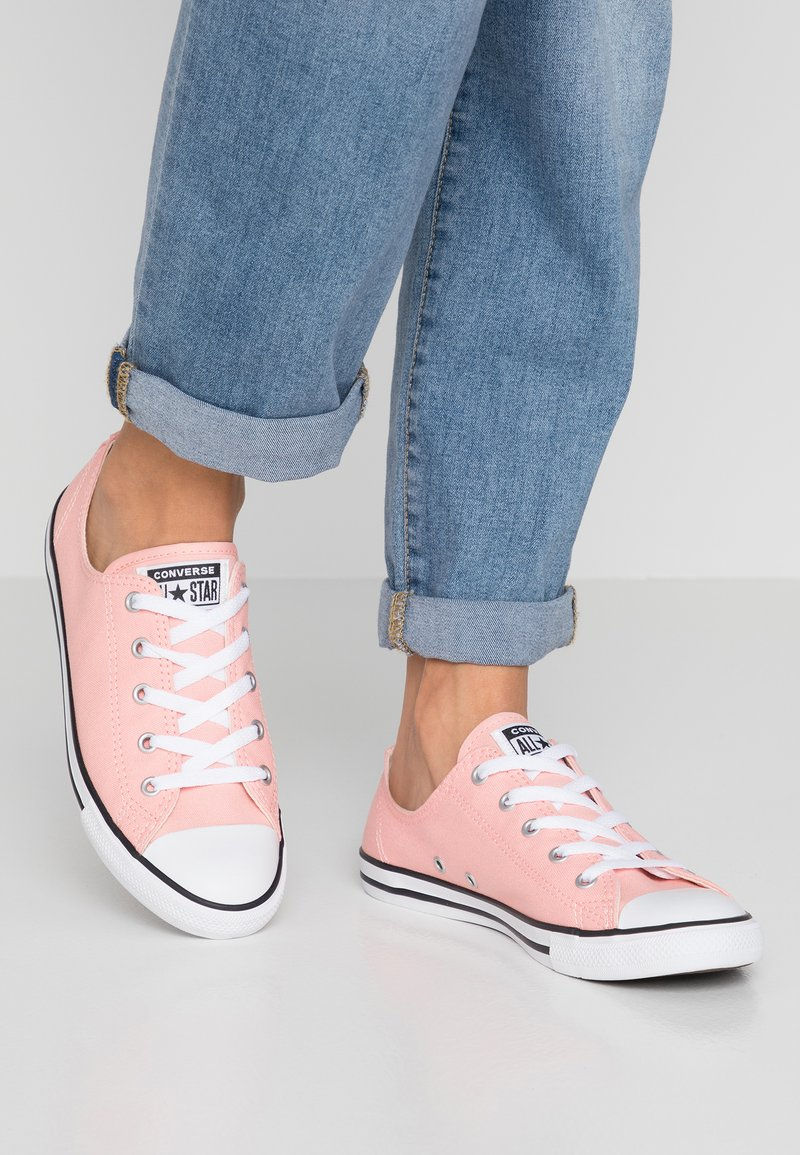 Converse - DAINTY - Tenisky - bleached coral/white/black