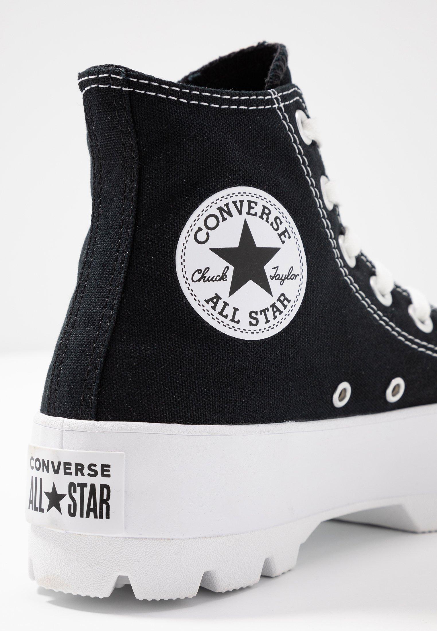 CHUCK TAYLOR ALL STAR LUGGED Sneakers hoog blackwhite