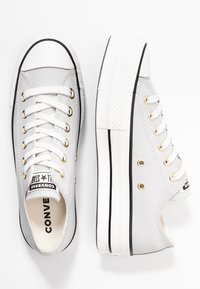 Converse - CHUCK TAYLOR ALL STAR LIFT - Sneakers basse - mouse/vintage white/black - 3