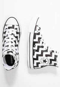 Converse - CHUCK TAYLOR ALL STAR GLAM DUNK - Baskets montantes - white/black - 3