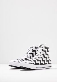 Converse - CHUCK TAYLOR ALL STAR GLAM DUNK - Baskets montantes - white/black - 4