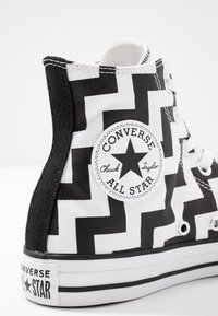 Converse - CHUCK TAYLOR ALL STAR GLAM DUNK - Baskets montantes - white/black - 2