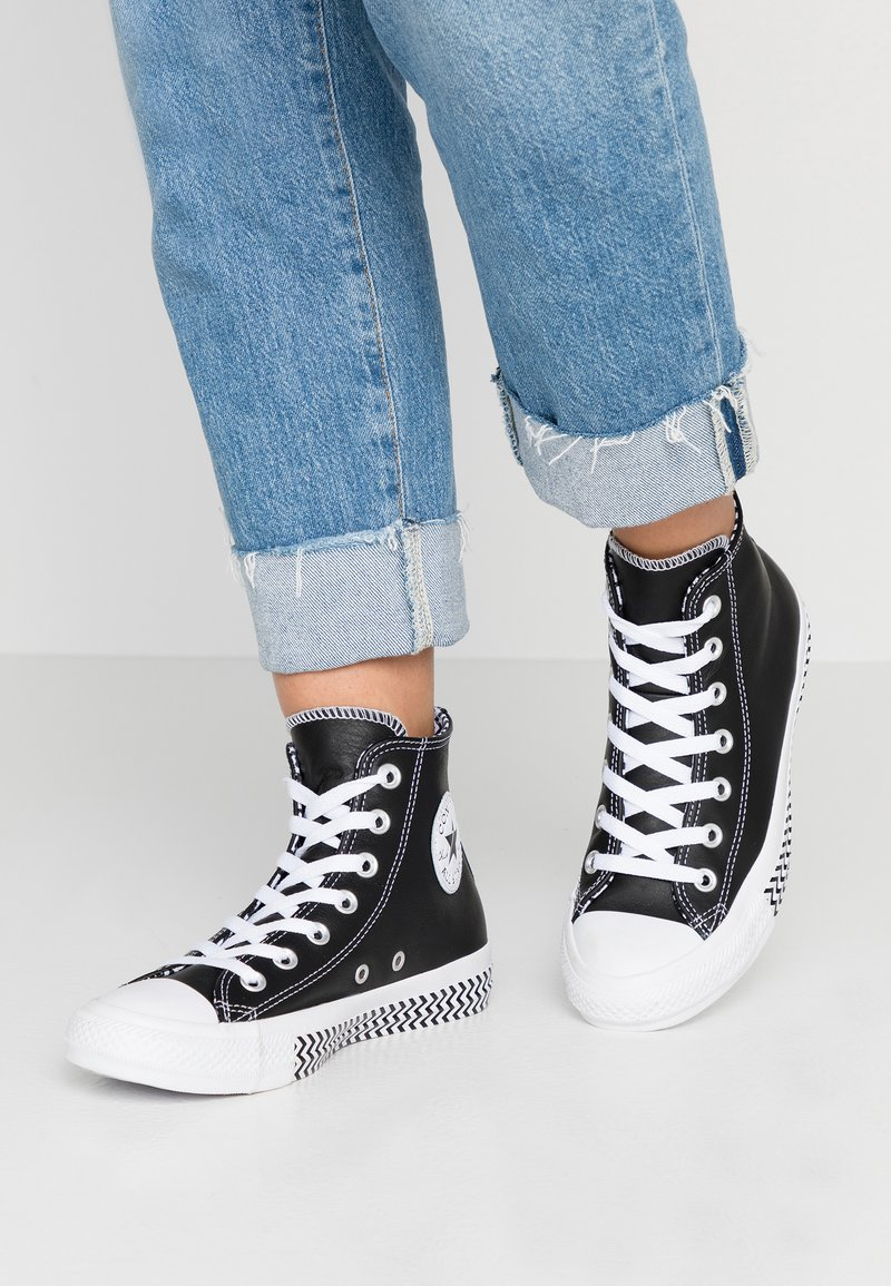 Converse - CHUCK TAYLOR ALL STAR MISSION - Baskets montantes - black/white