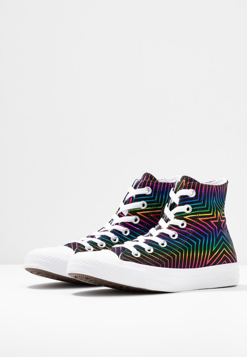 white Black Converse Chuck Taylor All Montantes StarBaskets wZ0knN8OPX