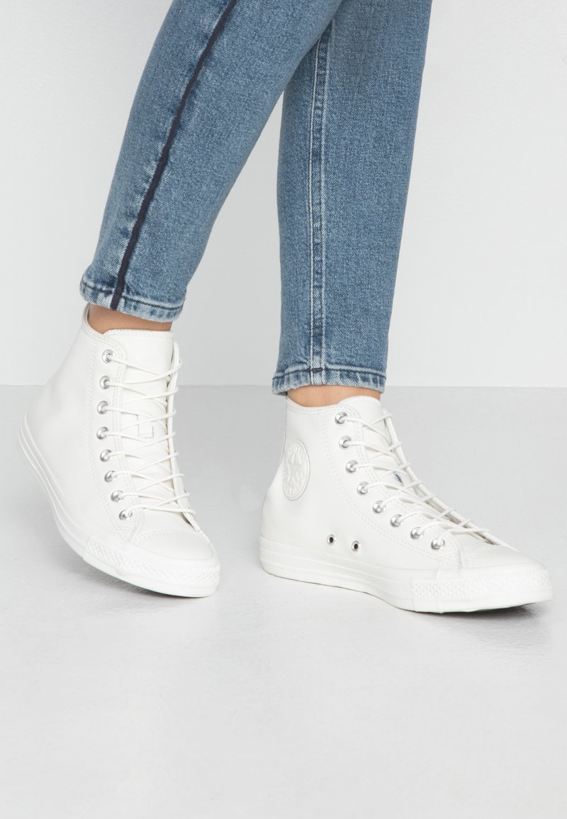 Converse - CHUCK TAYLOR ALL STAR SEASONAL - Sneakers alte - vintage white