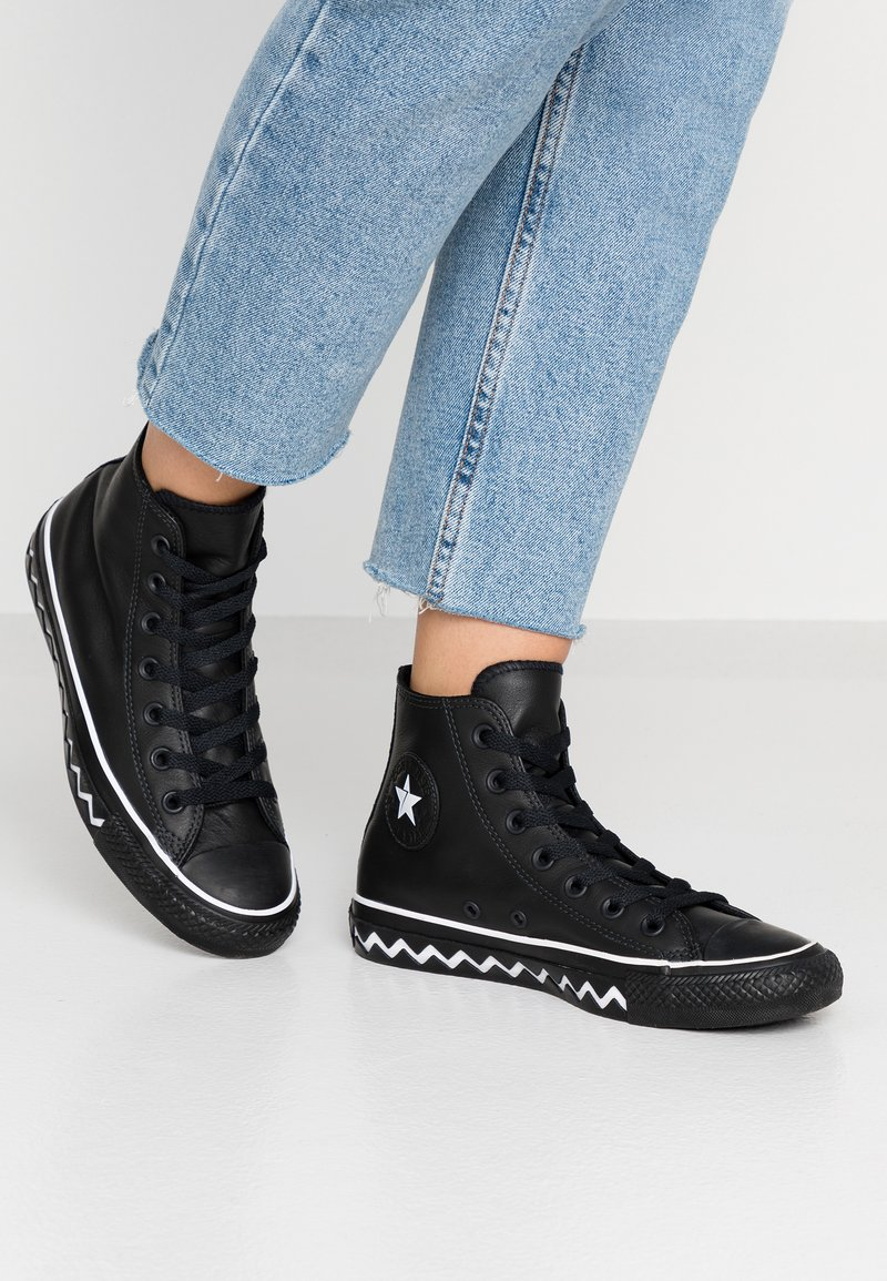 Converse - CHUCK TAYLOR ALL STAR MISSION - High-top trainers - black/white
