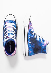 Converse - CHUCK TAYLOR ALL STAR MISS GALAXY - Vysoké tenisky - lapis blue/black/barely rose