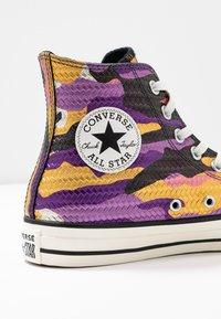 Converse - CHUCK TAYLOR ALL STAR - Høye joggesko - multicolor/black/egret - 2