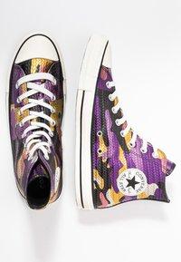 Converse - CHUCK TAYLOR ALL STAR - Høye joggesko - multicolor/black/egret - 3