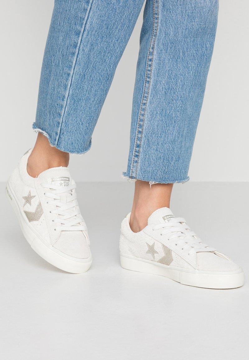 Converse - PRO  - Sneakers basse - vaporous gray/light gold/egret