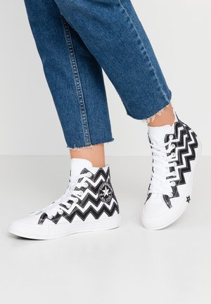 CHUCK TAYLOR ALL STAR MISSION - Baskets montantes - white/black