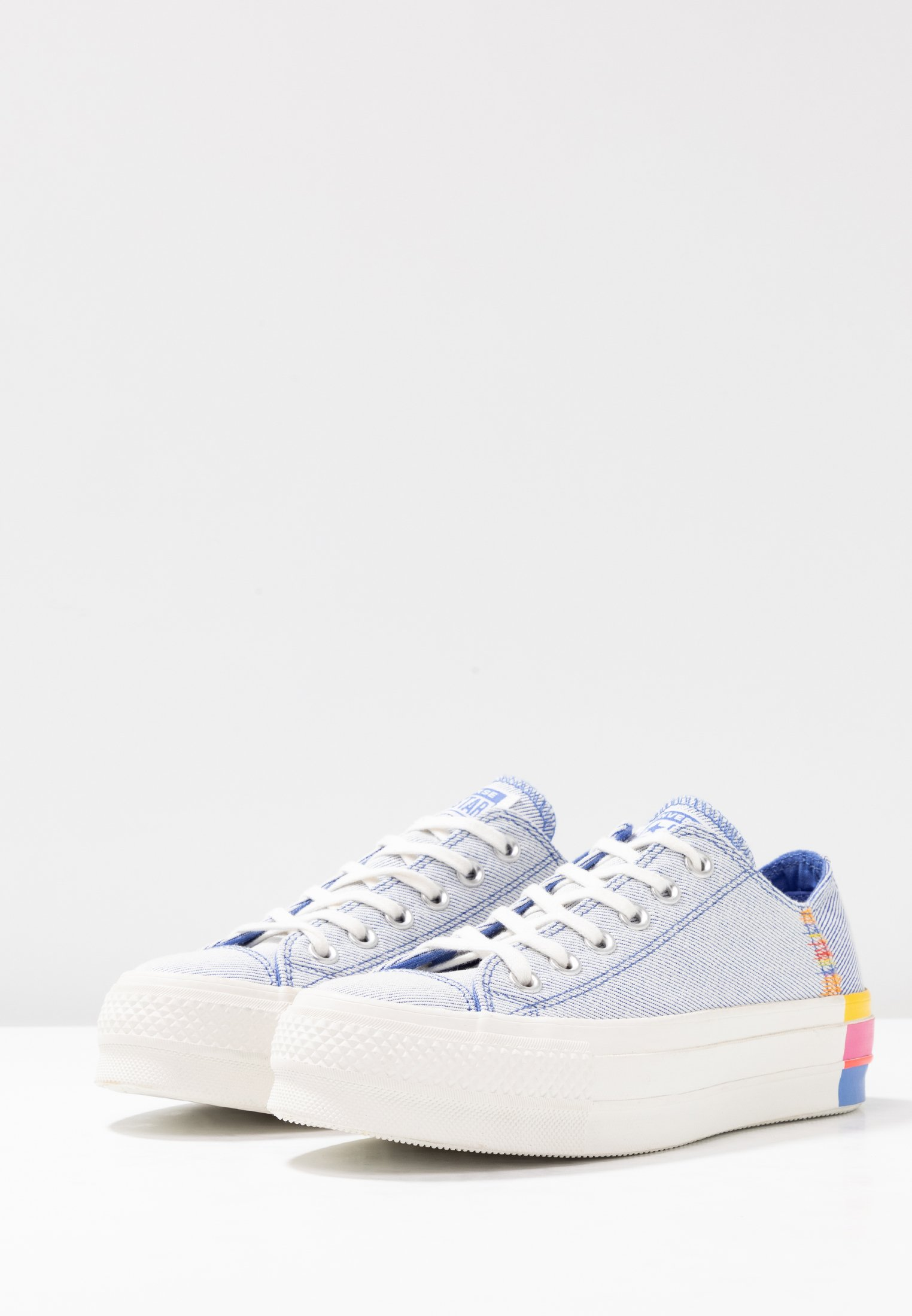 Lift Converse RainbowBaskets Basses Blue Chuck vintage White Taylor All Ozone Star 5ARjL34