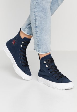 CHUCK TAYLOR ALL STAR HIKER FINAL FRONTIER - Høye joggesko - obsidian/white/black