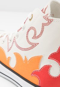 Converse - CHUCK TAYLOR ALL STAR FASHION WEEK CAPSULE - High-top trainers - egret/habanero red/orange rind - 2