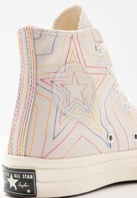 Converse - CHUCK 70 RAINBOW - Baskets montantes - white/pale putty/egret - 2