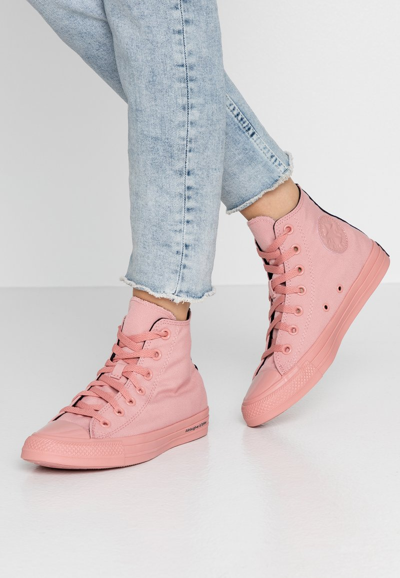 Converse - CHUCK TAYLOR ALL STAR OPI - Høye joggesko - rust pink/black