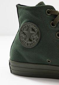 Converse - CHUCK TAYLOR ALL STAR OPI - Zapatillas altas - thyme/black - 2