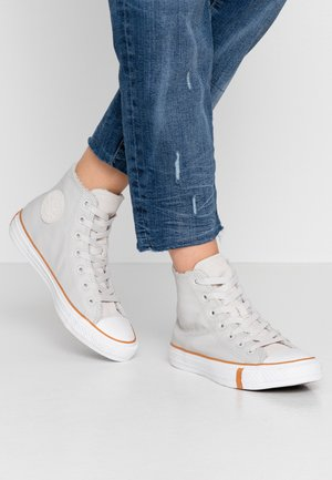 CHUCK TAYLOR ALL STAR - Høye joggesko - pale putty/white/honey