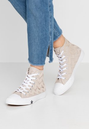 CHUCK TAYLOR ALL STAR - Baskets montantes - papyrus/white